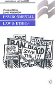 Cover of Palgrave Law Masters: Environmental Law and Ethics