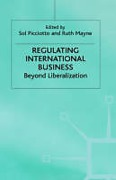 Cover of Regulating International Business: Beyond Liberalization