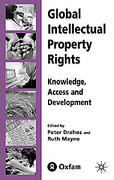 Cover of Global Intellectual Property Rights: Knowledge, Access and Development