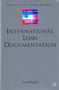 Cover of International Loan Documentation