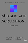 Cover of Mergers and Acquisitions: Current Issues