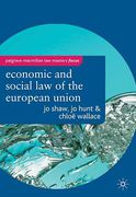 Cover of Palgrave Law Masters: Economic and Social Law of the European Union