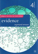 Cover of Palgrave Law Masters: Evidence