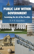 Cover of Public Law within Government: Sustaining the Art of the Possible
