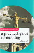 Cover of Practical Guide to Mooting