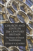 Cover of Church and State in 21st Century Britain