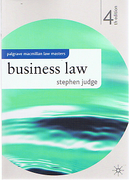 Cover of Palgrave Law Masters: Business Law