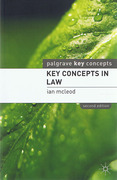 Cover of Key Concepts in Law