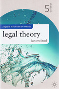 Cover of Palgrave Law Masters: Legal Theory