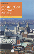 Cover of Construction Contract Claims