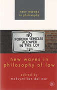 Cover of New Waves in Philosophy of Law