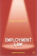 Cover of Great Debates: Employment Law