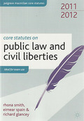 Cover of Core Statutes on Public Law & Civil Liberties 2011-2012