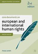 Cover of Core Documents on European and International Human Rights