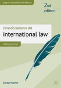 Cover of Core Documents on International Law