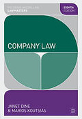 Cover of Palgrave Law Masters: Company Law