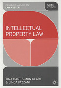 Cover of Palgrave Law Masters: Intellectual Property Law