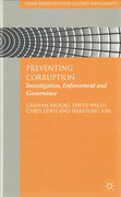 Cover of Preventing Corruption: Investigation, Enforcement and Governance