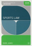 Cover of Palgrave Law Masters: Sports Law