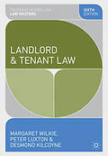 Cover of Palgrave Law Masters: Landlord and Tenant Law