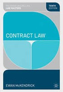 Cover of Palgrave Law Masters: Contract Law