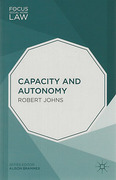 Cover of Capacity and Autonomy