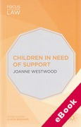 Cover of Children in Need of Support (eBook)