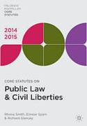Cover of Core Statutes on Public Law & Civil Liberties 2014-2015