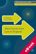 Cover of Adult Social Care Law in England  (eBook)