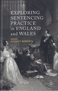 Cover of Exploring Sentencing Practice in England and Wales