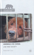 Cover of Animals in China: Law and Society