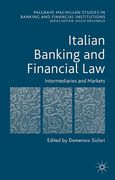 Cover of Italian Banking and Financial Law: Intermediaries and Markets
