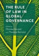 Cover of The Rule of Law in Global Governance