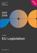 Cover of Core EU Legislation 2017-18