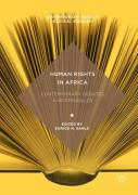 Cover of Human Rights in Africa: Contemporary Debates and Struggles