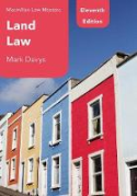 Cover of Macmillan Law Masters: Land Law