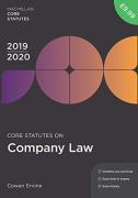 Cover of Core Statutes on Company Law 2019-20