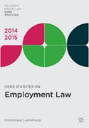 Cover of Core Statutes on Employment Law 2014-2015
