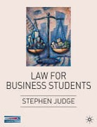 Cover of Law for Business Students