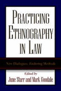 Cover of Practicing Ethnography in Law: New Dialogues, Enduring Methods