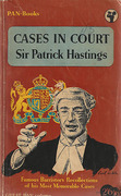Cover of Cases in Court: Recollections of His Most Memorable Cases