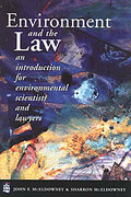 Cover of The Environment and the Law