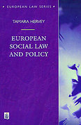 Cover of European Social Law and Policy