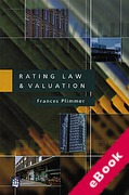 Cover of Rating Law and Valuation (eBook)