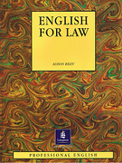 Cover of English for Law