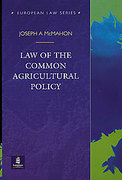 Cover of Law of the Common Agricultural Policy