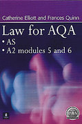 Cover of Law for AQA