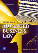 Cover of Smith and Keenan's Advanced Business Law