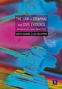 Cover of The Law of Criminal and Civil Evidence