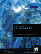 Cover of Smith and Keenan's Company Law for Students WITH Scottish Supplement